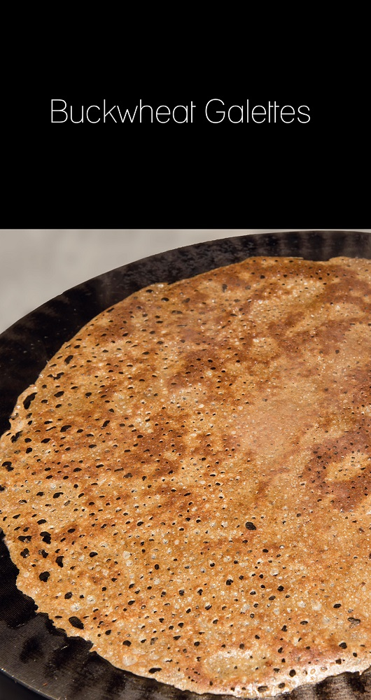 recette Buckwheat galettes